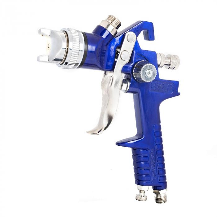 Pistol de vopsit Gloss GH-827 HVLP, cupa plastic 600 ml, duza 1.3 mm, consum aer incepand cu  71 l/min [1]