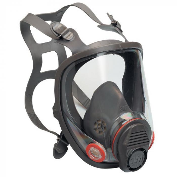 Masca protectie profesionala 3M™ 6900 Marime L, integrala de protectie respiratorie reutilizabila, fara filtre (se comanda separat) [0]