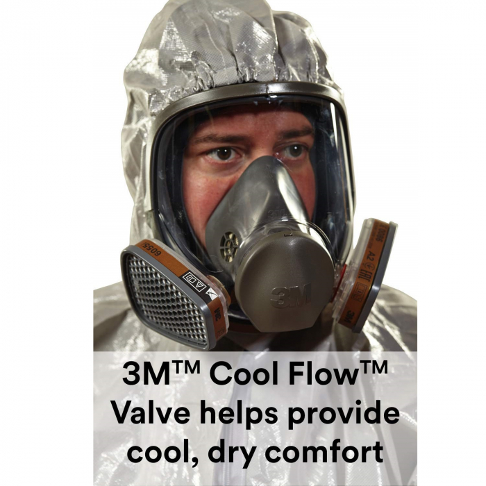 Masca protectie profesionala 3M™ 6900 Marime L, integrala de protectie respiratorie reutilizabila, fara filtre (se comanda separat) [1]
