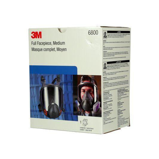 Masca protectie profesionala 3M™ 6900 Marime L, integrala de protectie respiratorie reutilizabila, fara filtre (se comanda separat) [2]