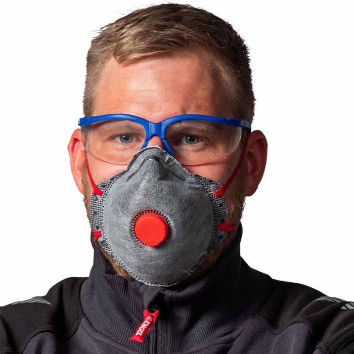 Masca particule Colad 5425 protectie respiratorie ridicata FFP2 cu supapa si carbon activ 1