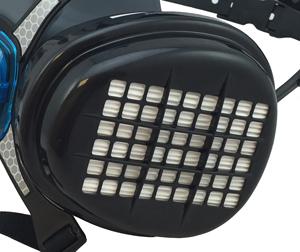 Masca protectie profesionala Anvest Iwata Viper cu filtru de carbon A2P3 si 2 prefiltre 4