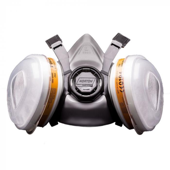 Masca protectie profesionala Norton 2016 cu filtru A2 P2 si 2 prefiltre [0]