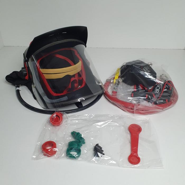 Masca protectie completa DeVilbiss Visor PROV-650 cu alimentare aer curat [6]