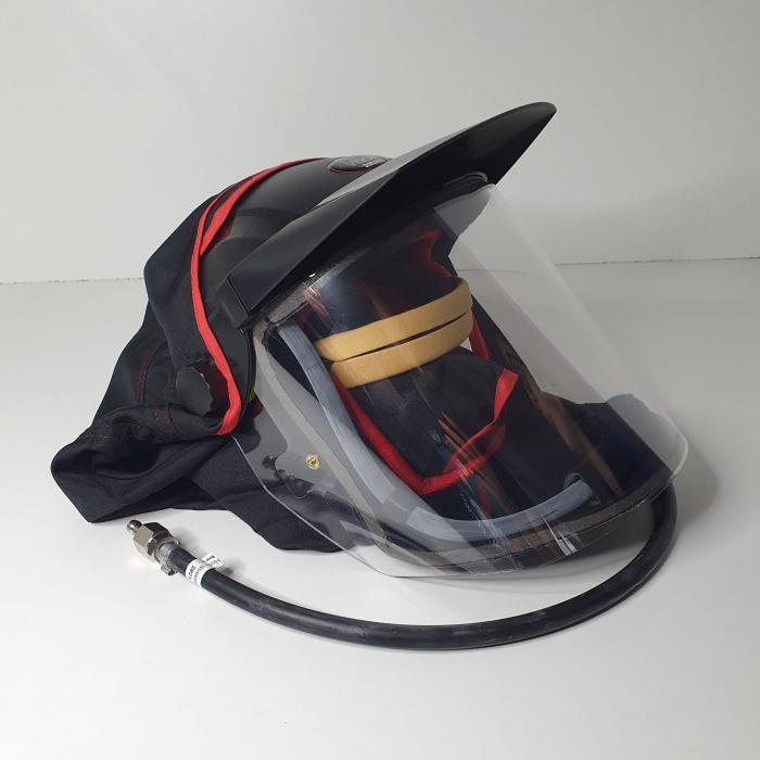 Masca protectie completa DeVilbiss Visor PROV-650 cu alimentare aer curat [3]