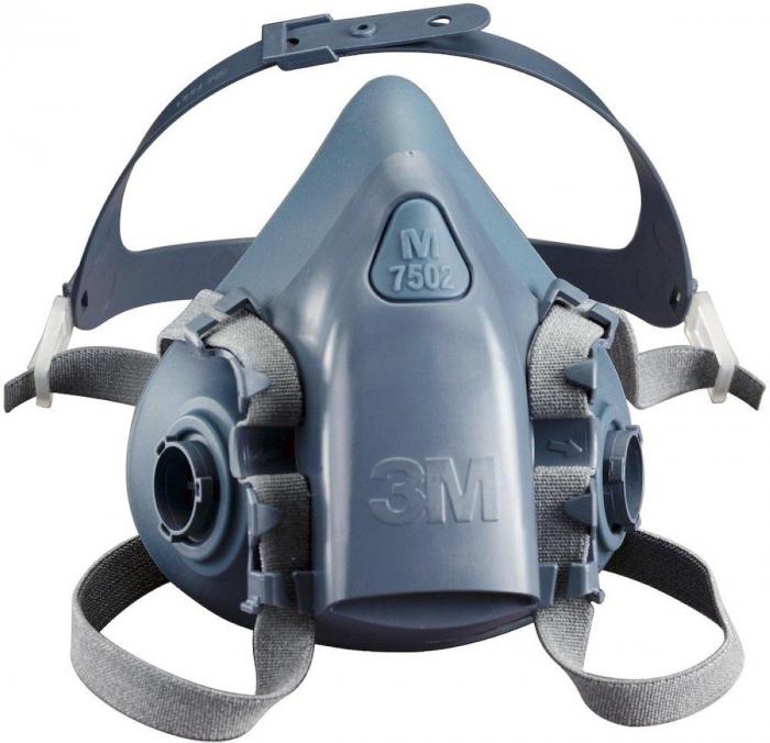 Masca protectie profesionala 3M™ 7502 Marime M, de protectie respiratorie, fara filtre (se comanda separat) 4