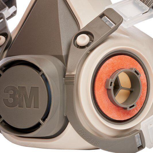 Masca protectie profesionala 3M™ 6200 Marime M, de protectie respiratorie, fara filtre (se comanda separat) 5