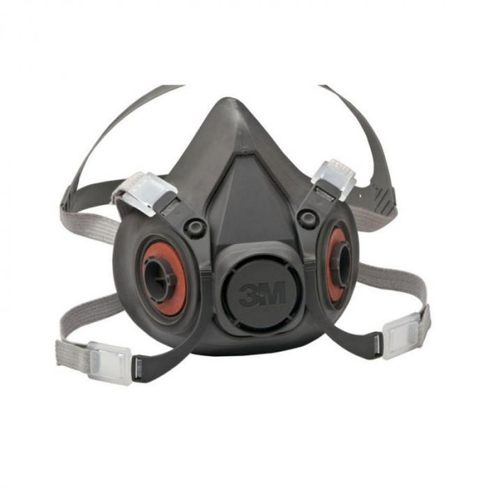 Masca protectie profesionala 3M™ 6200 Marime M, de protectie respiratorie, fara filtre (se comanda separat) 0