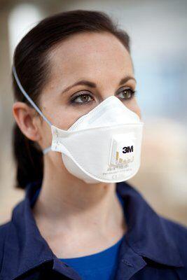 Masca protectie respiratorie 3M Aura™ 9332+, protectie ridicata FFP3, supapa 3M™ Cool Flow™ 3