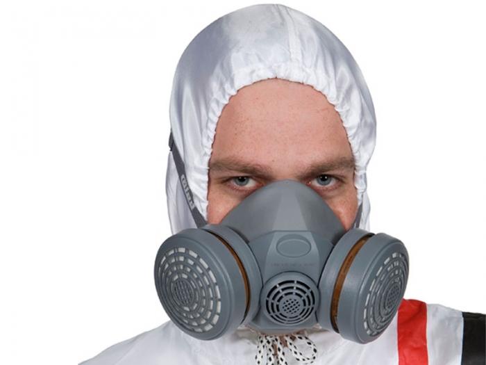 Masca pentru vopsit, Colad 5000, cu filtru de carbon A1P2 si 2 prefiltre + 50 pre-filtre cadou [1]
