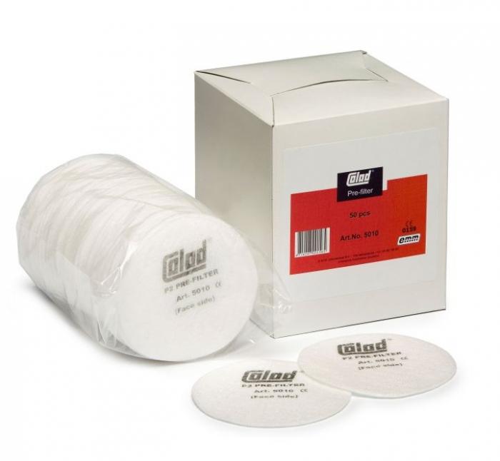 Masca pentru vopsit, Colad 5000, cu filtru de carbon A1P2 si 2 prefiltre + 50 pre-filtre cadou [2]