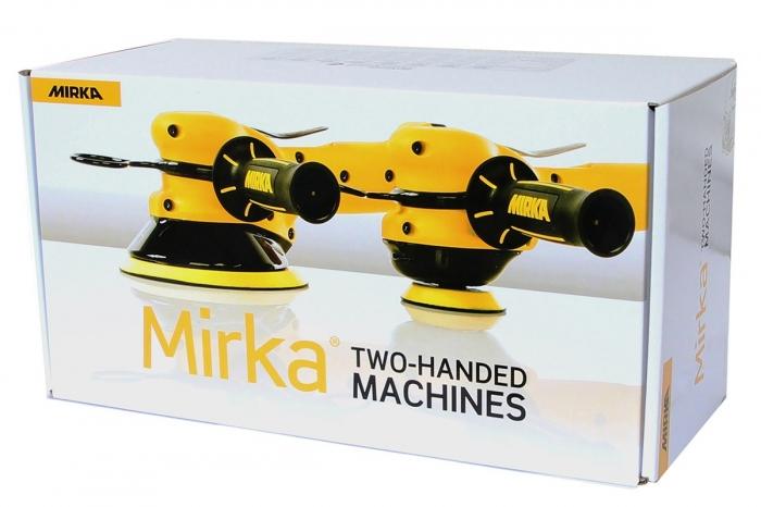 Masina slefuit pe aer Mirka ROS2 650CV orbitare 5 mm si Ø 150 mm 1