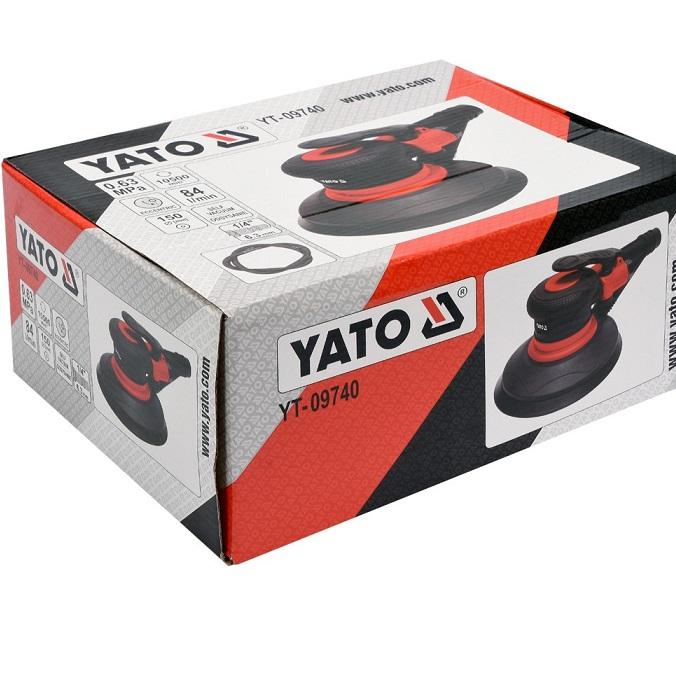 Masina slefuit pneumatica, Yato YT-09740, 10500 rotatii/min, Ø 150 mm [2]
