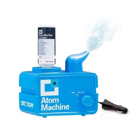 Nebulizator ultrasonic Errecom Atom Machine elimina mirosurile datorate contaminării bacteriologice + 48 buc solutie dezinfectare 0