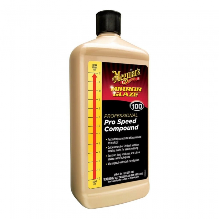 Pasta polish abraziva Meguiar's - Mirror Glaze Pro Speed Compound 946 ml 0