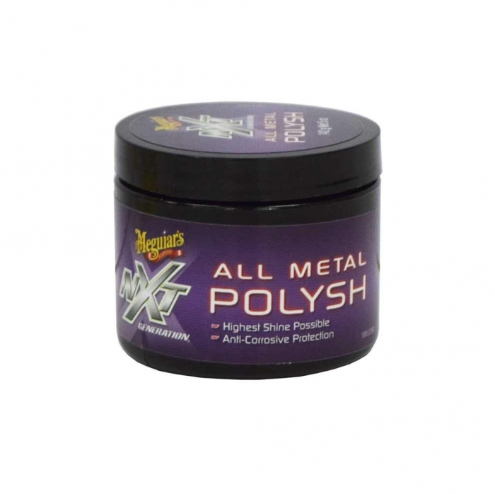 Pasta polish Metale Meguiar's - NXT Gen Metal Polysh 148 ml 0