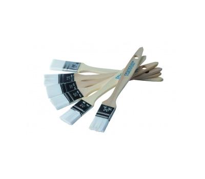 Pensula mastic pensulabil, Troton 355X, perie din plastic, maner din lemn, diferite latimi 1