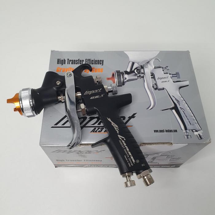 Pistol de vopsit Anest Iwata AZ3 HTE-S IMPACT Black Version Air Gunsa [7]