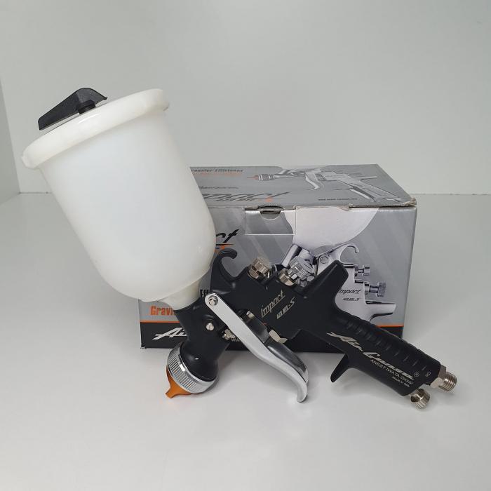 Pistol de vopsit Anest Iwata AZ3 HTE-S IMPACT Black Version Air Gunsa [5]