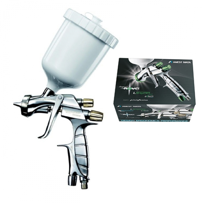 Pistol de vopsit, Anest Iwata Pininfarina WS-400 Evo Base, Pro Kit - cutie carton, cana 600 ml 0
