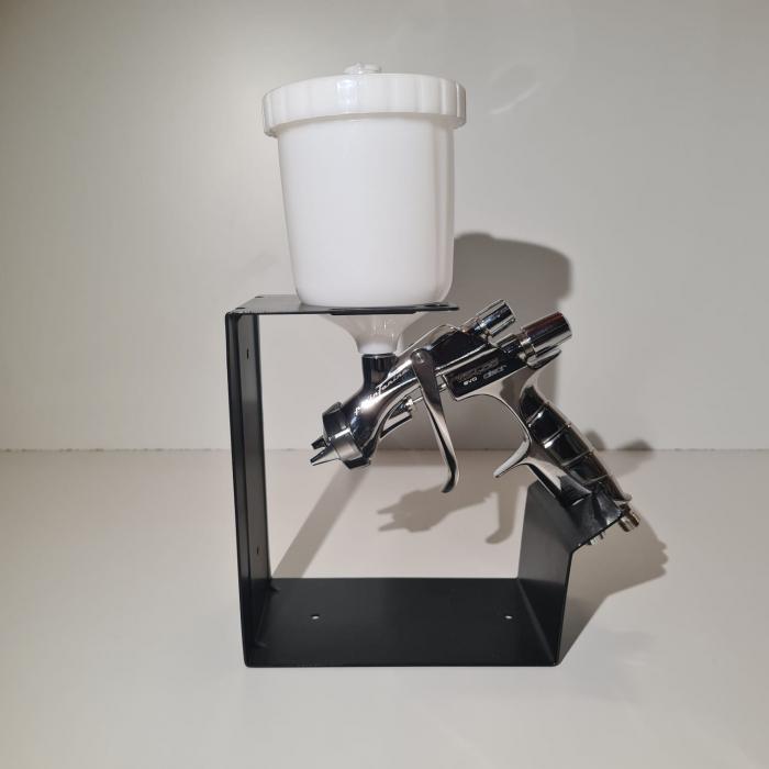 Pistol de vopsit Anest Iwata Pininfarina WS-400 Evo Clear, Pro Kit - cutie carton, cana 600 ml [2]