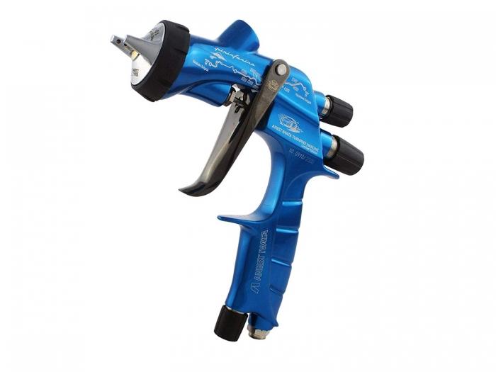 Pistol de vopsit Anest Iwata Pininfarina TurnPike Hakone pachet Master Kit, duza ø 1,3 mm, cana 600 ml, regulator presiuneAFV-2 4