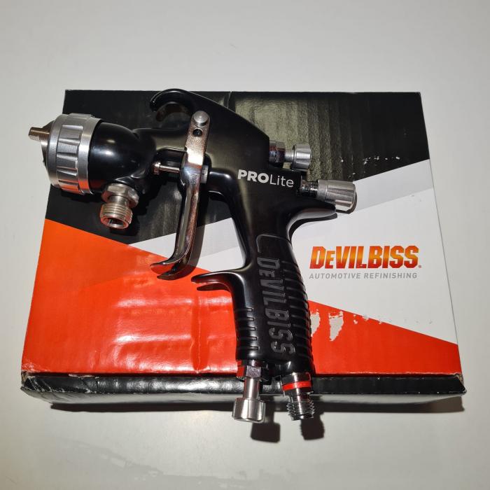 Pistol de vopsit cu prezurizare, DeVilbiss GTi Pro Lite, diferite duze, diferite capuri de aer [6]