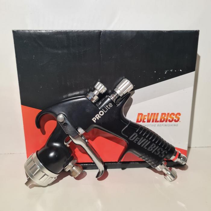 Pistol de vopsit cu prezurizare, DeVilbiss GTi Pro Lite, diferite duze, diferite capuri de aer [1]