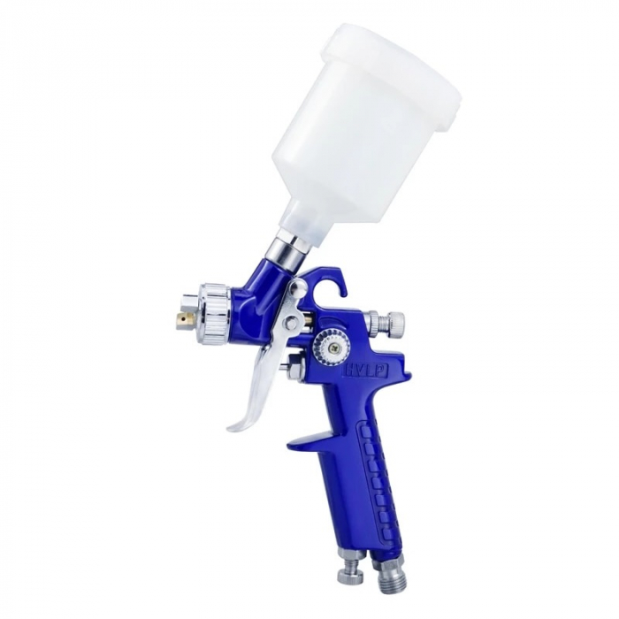 Pistol de vopsit pentru retus, DD Cars MINI H-2000, consum aer 90 - 140 l/min, cana 125 ml [0]