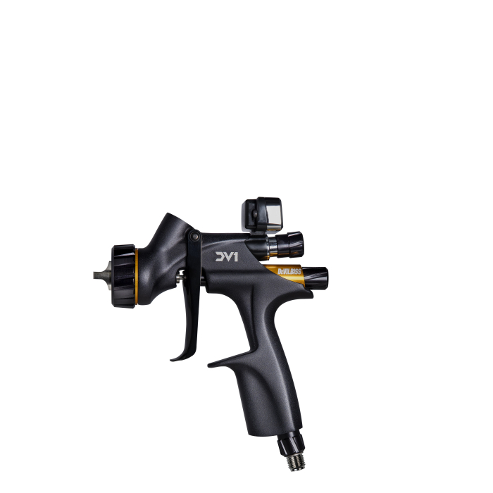 Pistol de vopsit DeVilbiss DV1 Digital pentru lac, PPS fara cana, consum aer incepand cu 285 l/min 0
