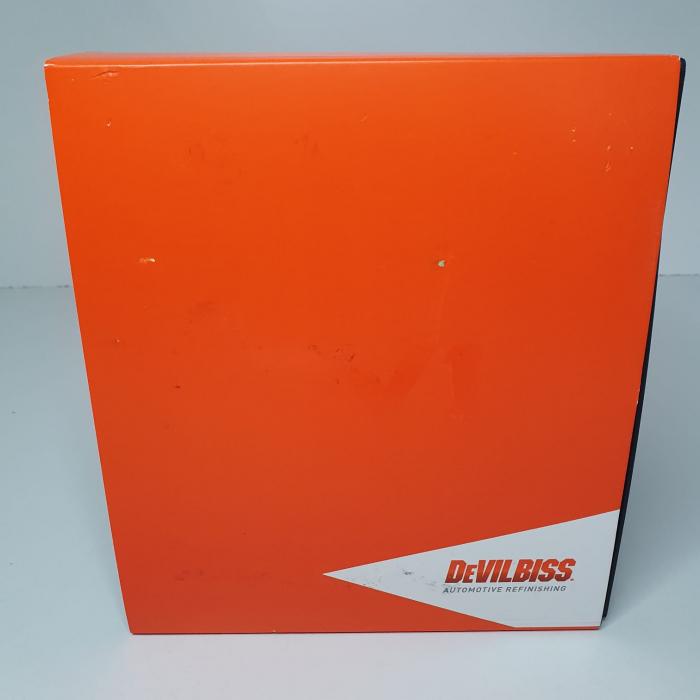 Pistol de vopsit DeVilbiss DV1 VOPSEA (DIGITAL), cupa plastic 600 ml, duza la alegere, consum aer incepand cu 300 l/min [5]