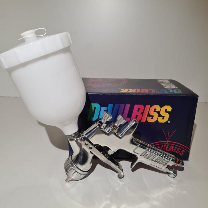 Pistol de vopsit DeVilbiss GPi-GP1, cupa plastic 560 ml, duza la alegere, consum aer incepand cu 270 l/min [10]