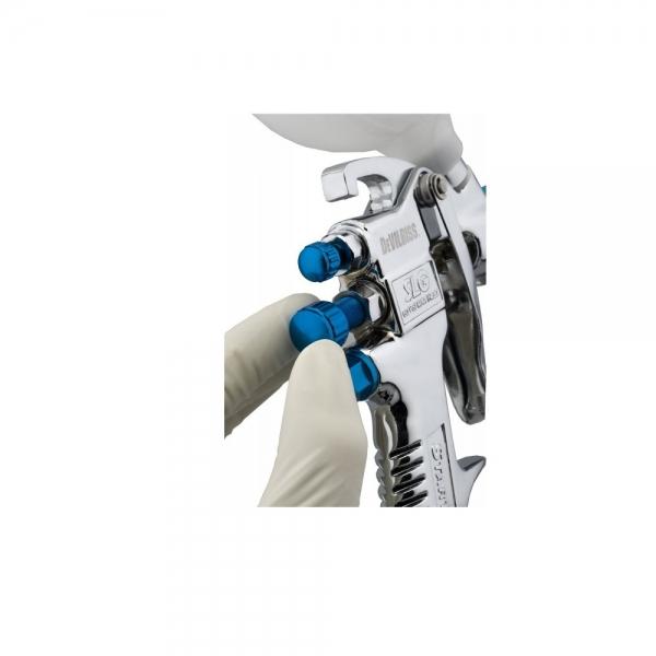 "Pistol de vopsit DeVilbiss SLG-620 ""Starting Line"", cupa plastic 550 ml, consum aer 250 l/min 1"