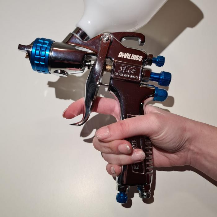 Pistol de vopsit DeVilbiss SLG-620 PACHET DUO 1.3 mm + 1.8 mm 10