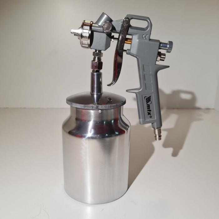 Pistol de vopsit Matrix, cana jos metalica 1 litru [1]