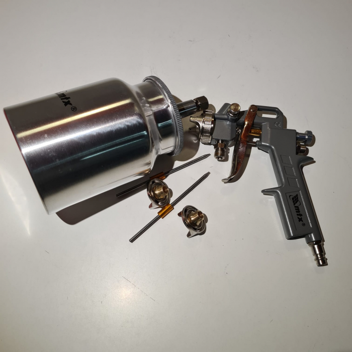 Pistol de vopsit Matrix, cana jos metalica 1 litru [4]