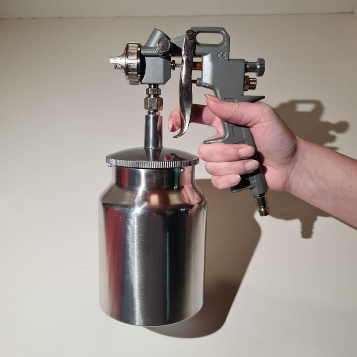 Pistol de vopsit Matrix, cana jos metalica 1 litru [2]