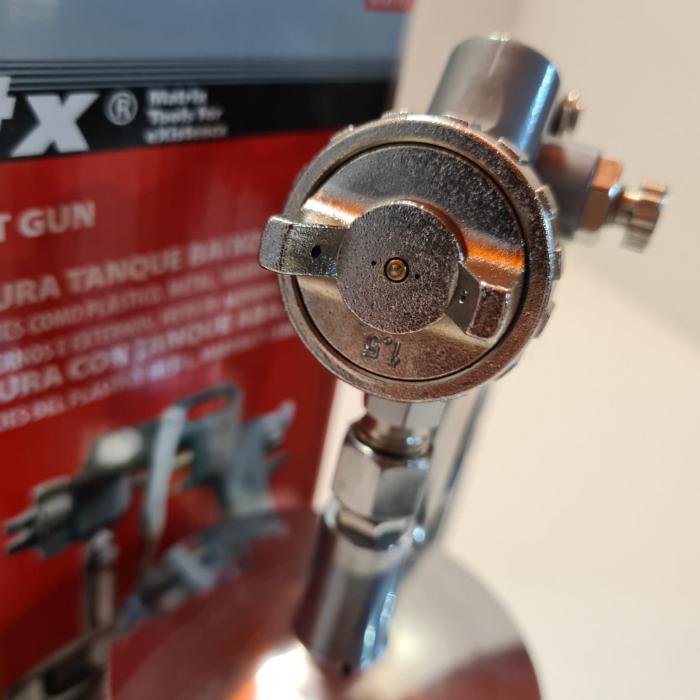 Pistol de vopsit, Matrix 573179, cana jos metalica 750 ml, duza 1.2, 1.5 si 1.8 mm [4]