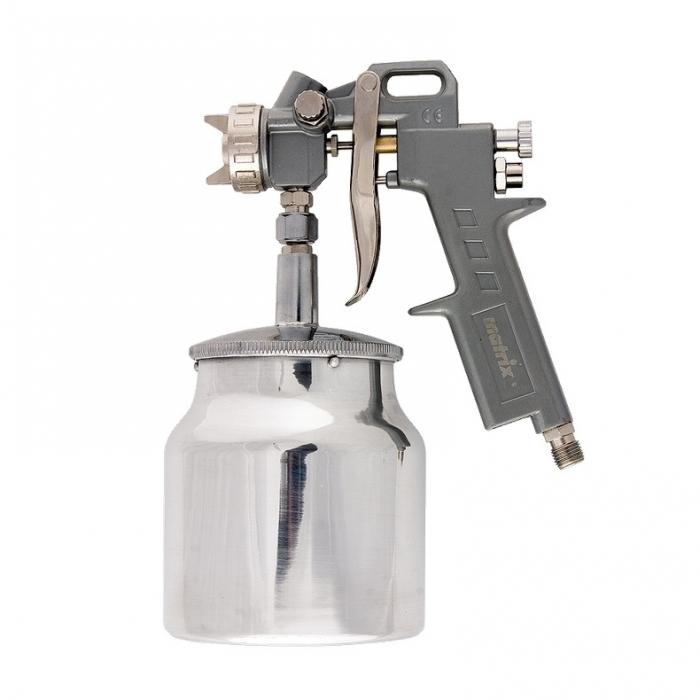 Pistol de vopsit Matrix cana jos metalica 1 litru 0