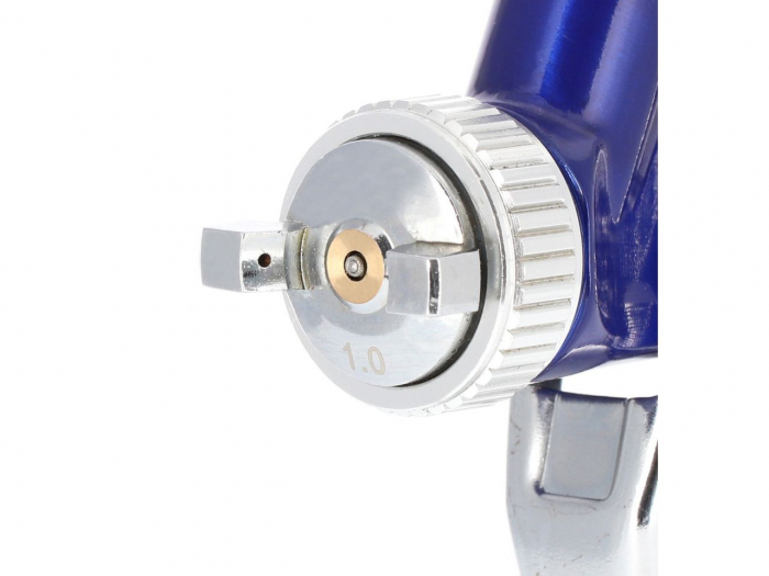 Pistol de vopsit pentru retus, Airpress 45102, cana plastic 125 ml, duza la alegere, consum aer 29-99 l/min [2]