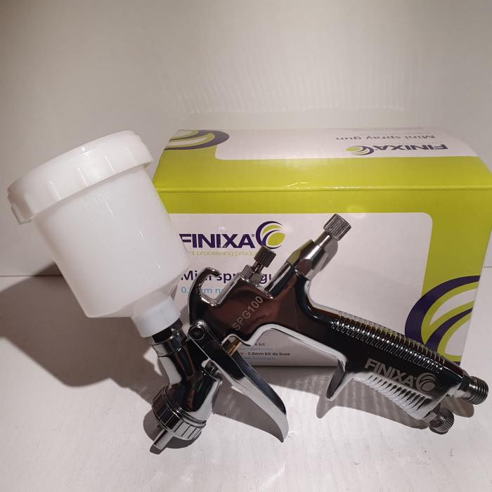 Pistol de vopsit pentru retus, Finixa SPG 100, cupa plastic 100 ml, consum aer 75 l/min [3]
