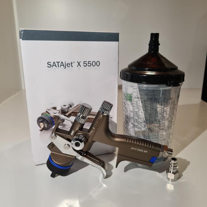 Pistol de vopsit SATAjet® X 5500 RP pentru lac RPS (fara cana) duză tip O [2]