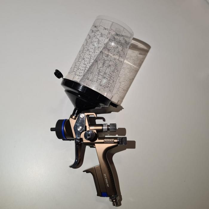 Pistol de vopsit SATAjet® X 5500 RP pentru lac RPS (fara cana) duză tip O [5]