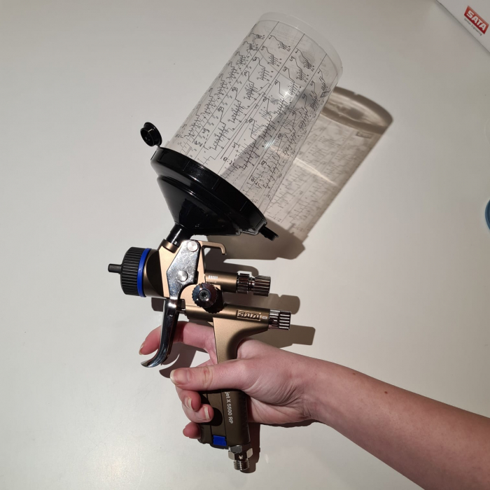 Pistol de vopsit SATAjet® X 5500 RP pentru lac RPS (fara cana) duză tip O [4]