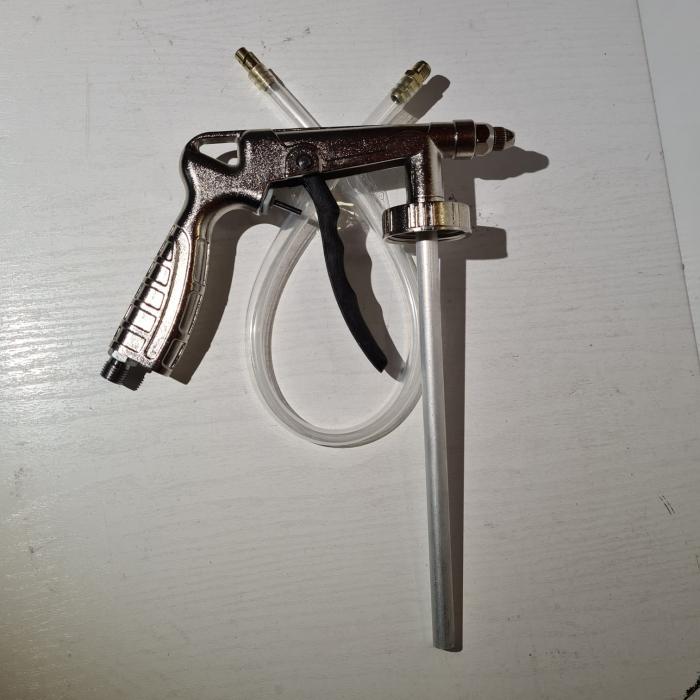 Pistol insonorizant, DD Cars PS-6, pentru aplicat insonorizant sau ceara cavitati, contine furtun 33 cm [2]
