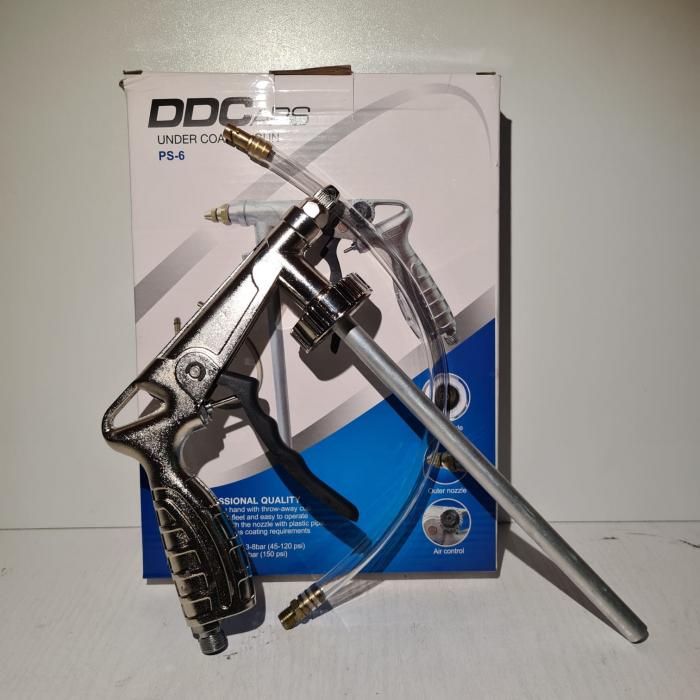 Pistol insonorizant, DD Cars PS-6, pentru aplicat insonorizant sau ceara cavitati, contine furtun 33 cm [1]