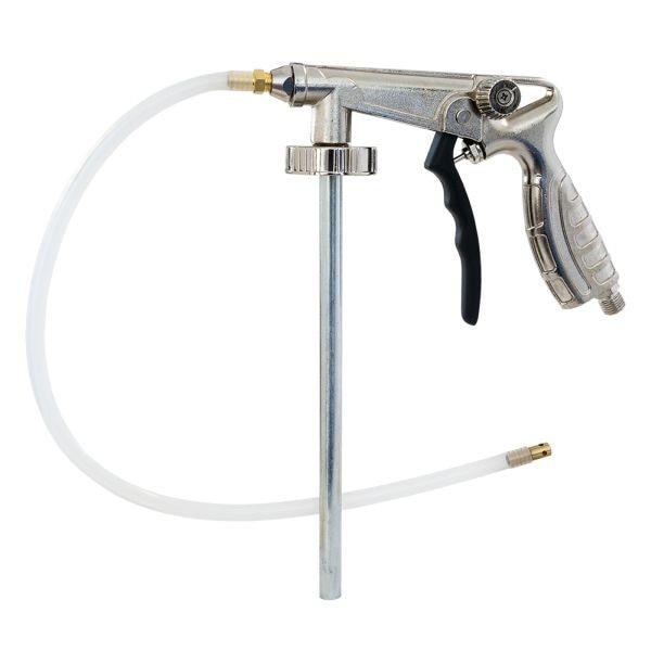 Pistol insonorizant, Airpress 45199, pentru aplicat insonorizant sau ceara cavitati, contine furtun 51 cm [0]