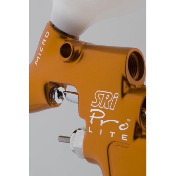 Pistol de vopsit pentru retus, DeVilbiss SRi Pro LITE Mini, cupa plastic 125 ml, duza 0.6 - 1.2 mm, consum aer 50 l/min [3]