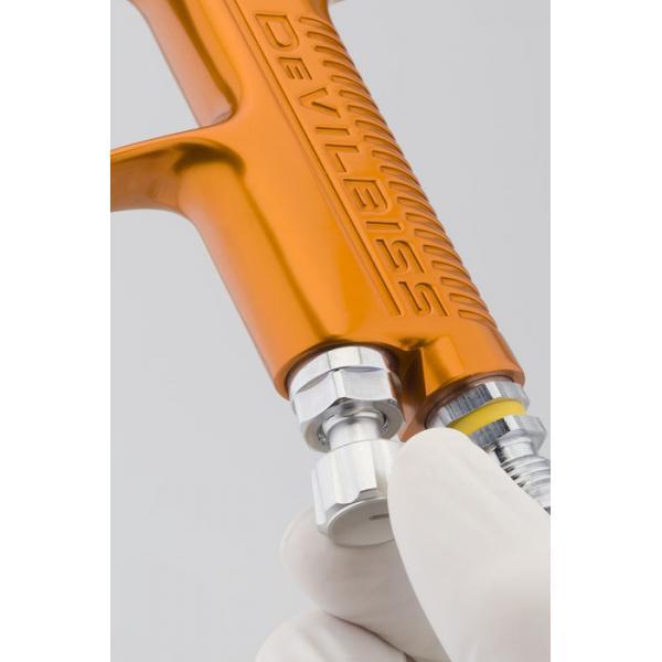 Pistol de vopsit pentru retus, DeVilbiss SRi Pro LITE Mini, cupa plastic 125 ml, duza 0.6 - 1.2 mm, consum aer 50 l/min [4]