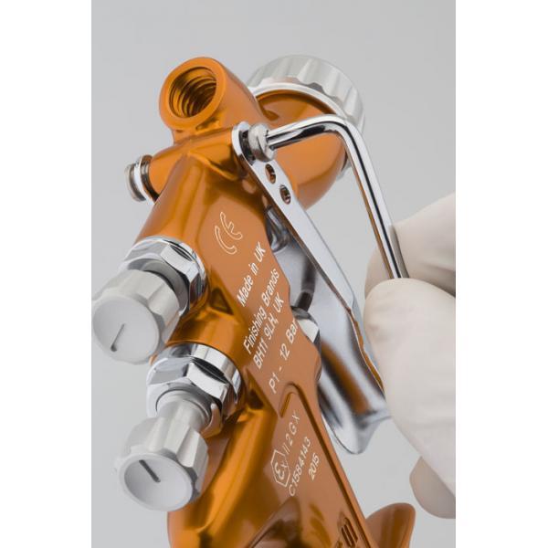 Pistol de vopsit pentru retus, DeVilbiss SRi Pro LITE Mini, cupa plastic 125 ml, duza 0.6 - 1.2 mm, consum aer 50 l/min [2]